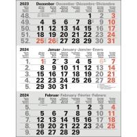 Ersatzkalender für 3-Monatskalender 2018 Bühner M3TKM, 11 x 22cm