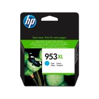 Tintenpatrone HP FU16AE - 953XL, Reichweite: 1.600 Seiten, cyan