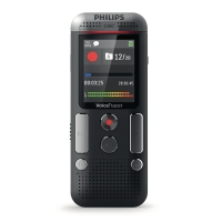 Diktiergerät Philips DVT 2510, Digital Pocket Memo, 8GB Speicher, 45x113x20