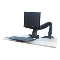 Sitz-Steh Plattform Fellowes 8204601 Easy Glide, höhenverstellbar, schwarz