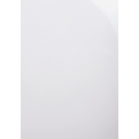 Einbanddeckel Exacompta 2980C, A4, glänzend, weiß, 100 Stück