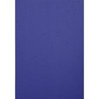 Einbanddeckel Exacompta 2790C, A4, Lederstruktur, dunkelblau, 100 Stück