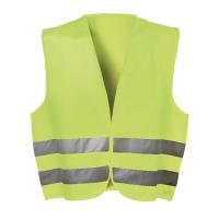 Warnschutzweste Feldtmann 22685, Größe: XL, gelb