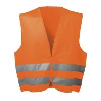 Warnschutzweste Feldtmann 22686, Größe: XL, orange