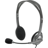 Headset Logitech H111 981-000593, silber