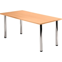 Tischplatte VKP16/6, Größe: 160x80cm (LxB), buche