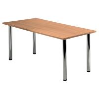 Tischplatte VKP16/6, Größe: 160x80cm (LxB), buche Desktopservice