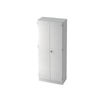 Schrank mit Garderobe, 1 Boden, Maße: 80x200,4x42cm, weiß, Desktopservice