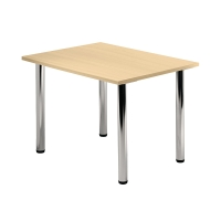 Tischplatte VKP08/3, Größe: 80x80cm (LxB), ahorn Montageservice