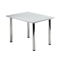 Tischplatte VKP08/5, Größe: 80x80cm (LxB), grau Montageservice