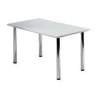 Tischplatte VKP12/5, Größe: 120x80cm (LxB), grau Montageservice