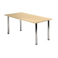 Tischplatte VKP16/3, Größe: 160x80cm (LxB), ahorn Montageservice