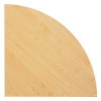 Winkel für Konferenztisch VKP91/3, Maße: 80x80cm (LxB), ahorn Montageservice