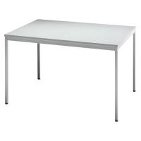 Konferenztisch VVS12/5, Größe: 120 x 80 cm (L x B), grau Montageservice