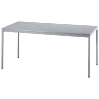 Konferenztisch VVS16/5, Größe: 160 x 80 cm (L x B), grau Montageservice