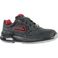 Sicherheitsschuhe Aimont Teuton IA00209, ESD, S3, Größe 45, schwarz/rot