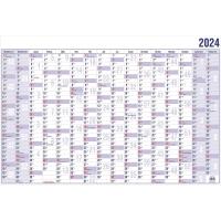 Plakatkalender 2018 Güss 19000, 16 Monate / 1 Seite, 40 x 30cm