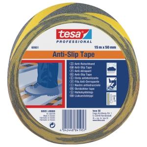 Antirutschband Tesa 60951, 50mm x 15m, gelb/schwarz
