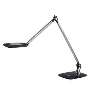 LED-Tischleuchte Aluminor Duke, 6,6 Watt, schwarz