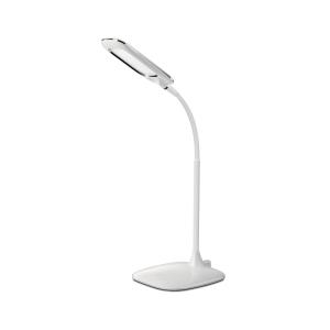 LED-Tischleuchte Aluminor Mika, 5 Watt, weiß