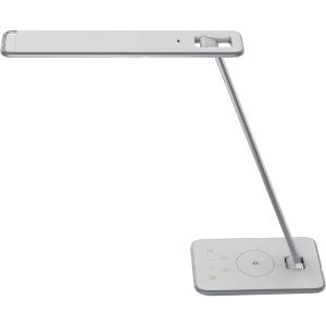 LED-Tischleuchte Unilux 400093836 Jazz, weiß/grau