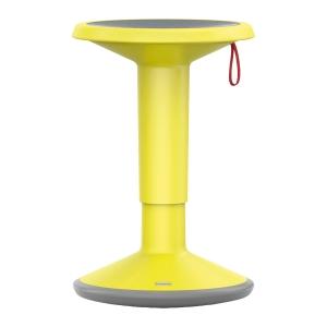 Hocker Interstuhl UP100U, höhenverstellbar, gelb