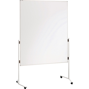 Moderationswand Franken ECO-UMTKR, Maße: 150 x 120cm, kartonkasch., mit Rollen