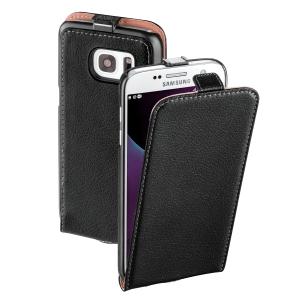 Ledertasche für Samsung Galaxy S7 Hama 176700 FlapCase, schwarz