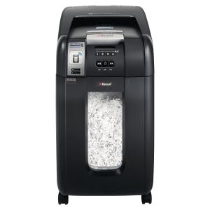 Aktenvernichter Rexel Auto+ 300X Smartech P4 CC, Partikelschnitt 4 x 40 mm