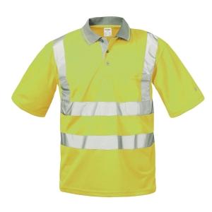 Warnschutz-Poloshirt SAFESTYLE BERND 22694, gelb, Gr. L