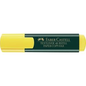 Textmarker AWF 48NF, Strichstärke: 1-5mm, nachfüllbar, gelb