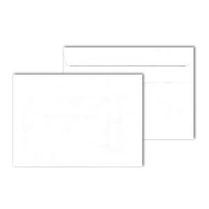 Briefumschläge C6, ohne Fenster, Selbstklebung, 75g, weiß, 1000 Stück