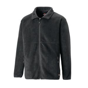 Fleecejacke Dickies Oakfield, 2 Taschen, flexibler Bund, Größe L, blau