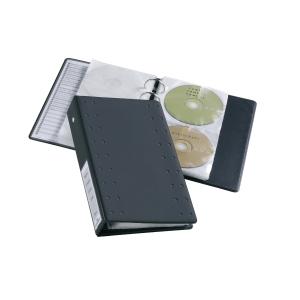 CD/DVD-Ringbuch Durable 5204 Index 20, mit 10 Hüllen für je 2 CDs, anthrazit