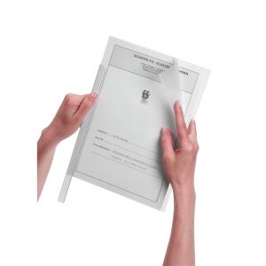 Klemmschienenhülle Durable 2919, A4, Fassungsvermögen: 100 Blatt, klar