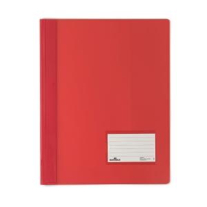 Schnellhefter Durable Duralux 2680, A4 Überbreite, rot