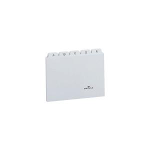 Leitkartenregister Durable 3670, A-Z, A7 quer, weiß