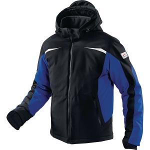 Winter Softshell Jacke Kübler 1041 7322-9946, Größe: 3XL, Schwarz/Kornblumenblau