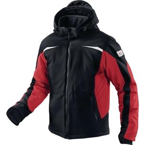 Winter Softshell Jacke Kübler 1041 7322-9955, Größe: M, Schwarz/Rot