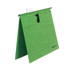 Hängehefter, A4, kaufmännische Heftung, grün, 5 Stück
