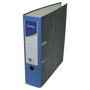 Ordner Lyreco Standard, A4, Rückenbreite: 80mm, blau