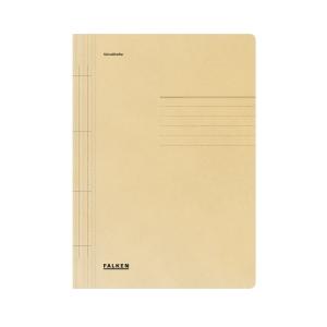 Schnellhefter Falken 80000425, A4, aus Karton, gelb