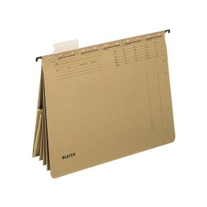 Mehrfach-Hängehefter Leitz Alpha 1983, A4, naturbraun