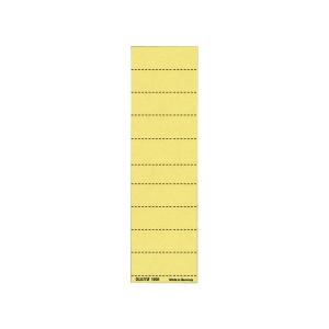Blankoschilder Leitz 1901, 60 x 21mm, gelb, 100 Stück