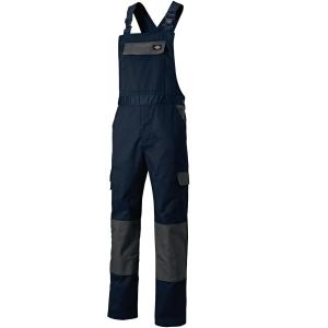 Arbeitslatzhose DICKIES Everyday ED24/7BB-NYGY, Größe: 60, Marineblau/Grau