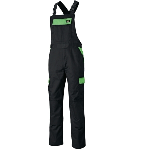 Arbeitslatzhose DICKIES Everyday ED24/7BB-BKLM, Größe: 48, Schwarz/Lime