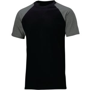 T-Shirt DICKIES TwoTone SH2007-BKGY, Größe: S, Schwarz/Grau