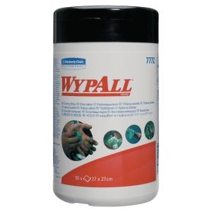 Wischtuch Wypall 7772, feucht, 27 x 27cm, 50 Stück