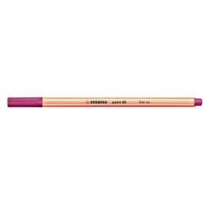 Fineliner Stabilo point 88/58, Strichstärke: 0,4mm, lila