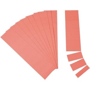 Einsteckkarten Ultradex 1406, 6cm, rot, 90 Stück